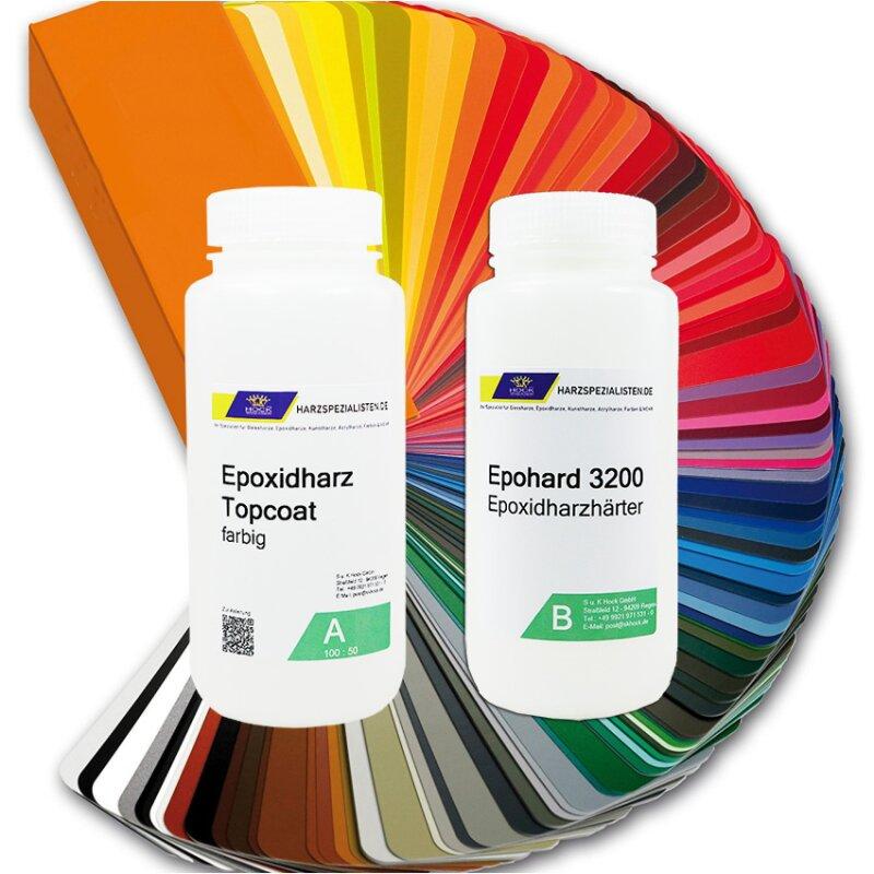 TOP Coat Beschichtung in verschiedenen Farben